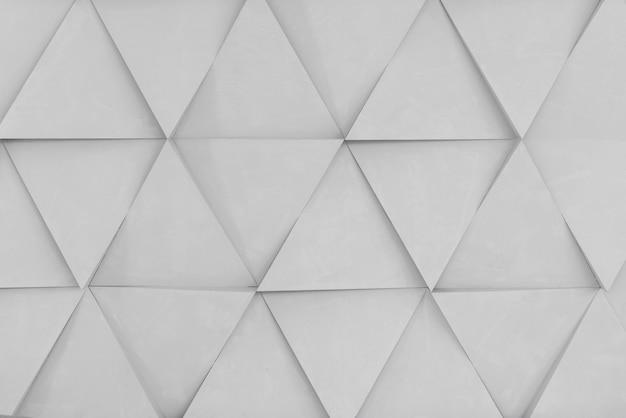 Fond géométrique de formes de diamant blanc
