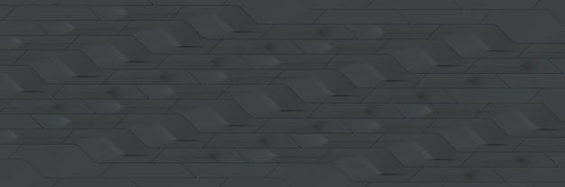 Fond géométrique gris large papier peint panoramique