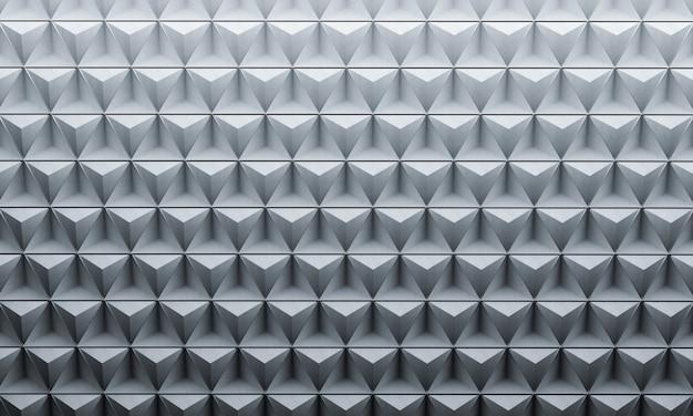 Fond géométrique en métal