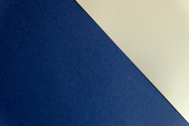 Fond géométrique en papier bleu marine et argent