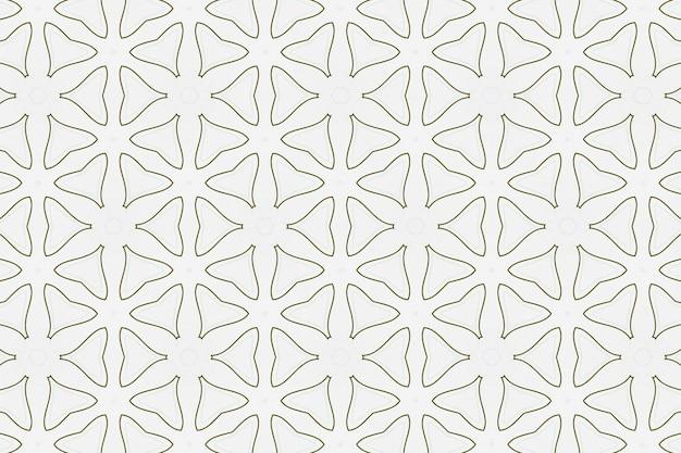 Fond géométrique symétrique léger simple pour la conception et la décoration. motif répétitif des formes pour le fond blanc du site