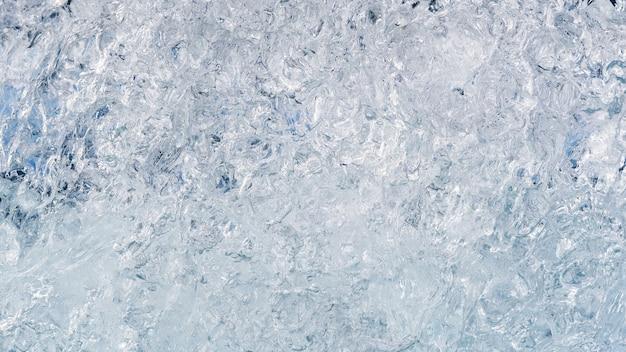 Fond de glace de l'islande