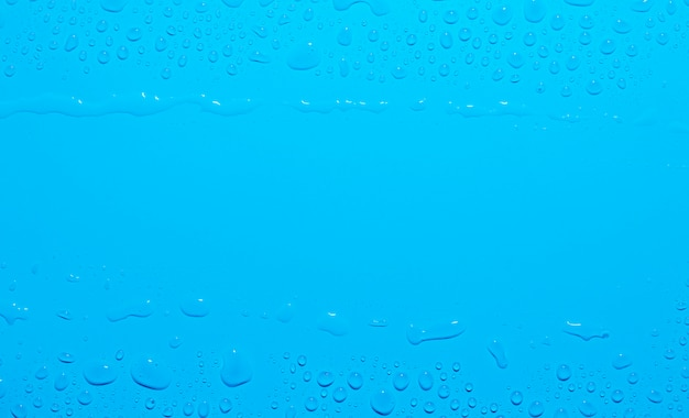 Fond de gouttes d'eau