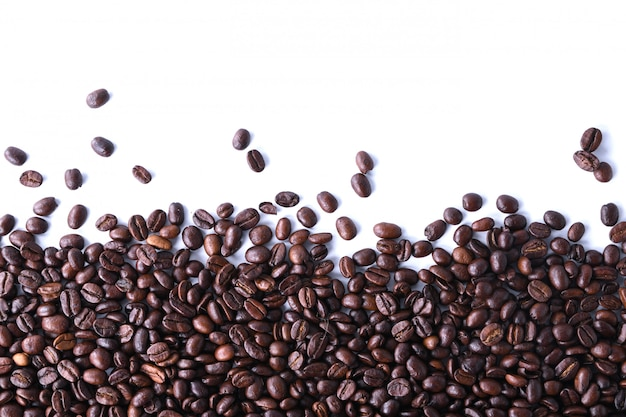 Fond de grains de café