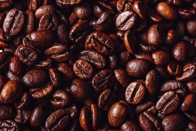 Fond de grains de café.