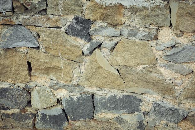 Fond de grandes pierres carrées, pavés pour la finition des trottoirs