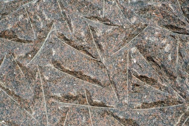 Fond d'un granit
