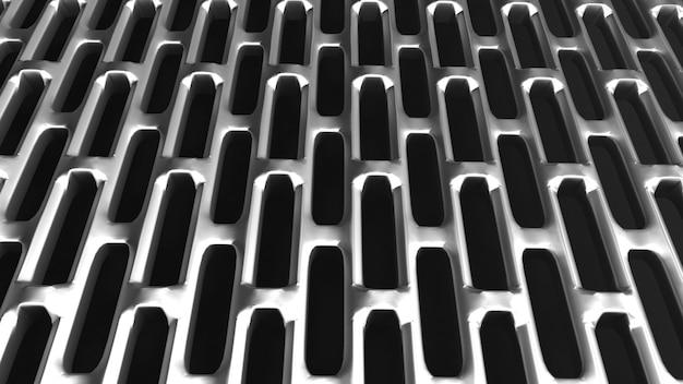 Fond de grille métallique abstraite