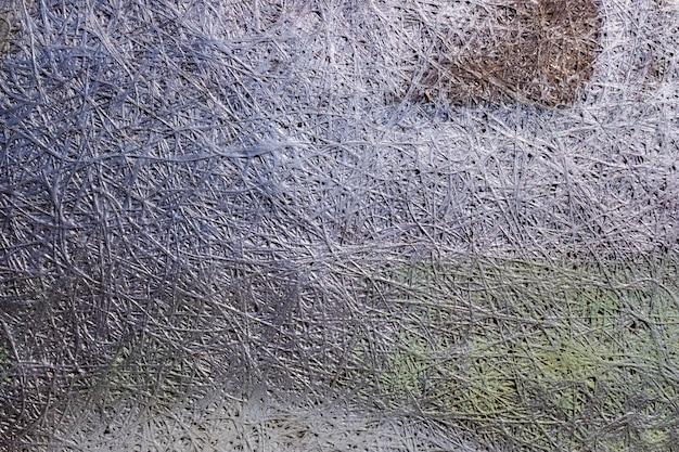 Fond gris abstrait design métallique.