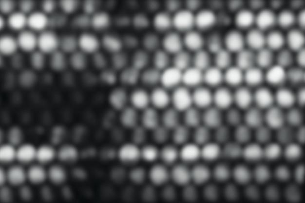Fond gris bokeh, arrière-plans abstraits, arrière-plan flou. abstrait circulaire bokeh gris.