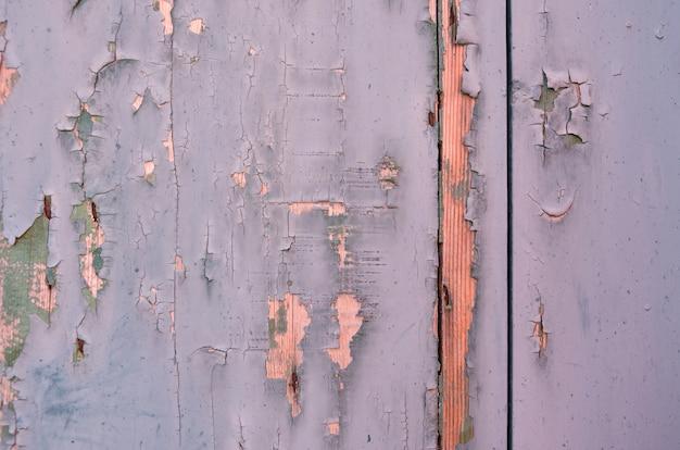 Fond grunge. bois patiné bleu clair et vert