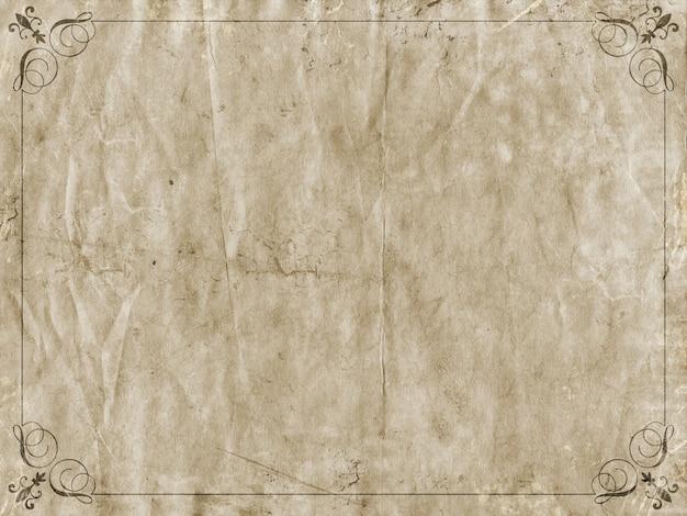 Fond grunge cadre décoratif avec splats taches et plis