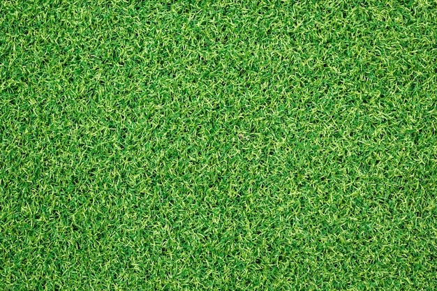 Fond d'herbe verte artificielle.