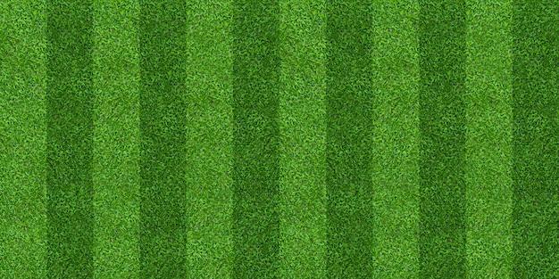 Fond d'herbe verte de terrain pour le football et le football.