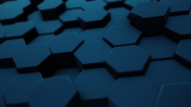 Fond hexagonal