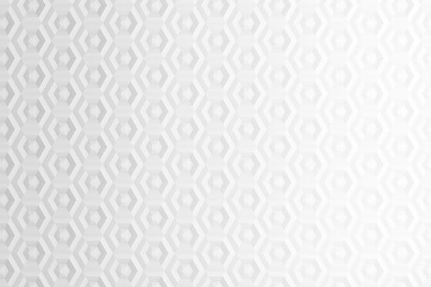 Fond d'hexagones et de cercles basés sur une grille hexagonale