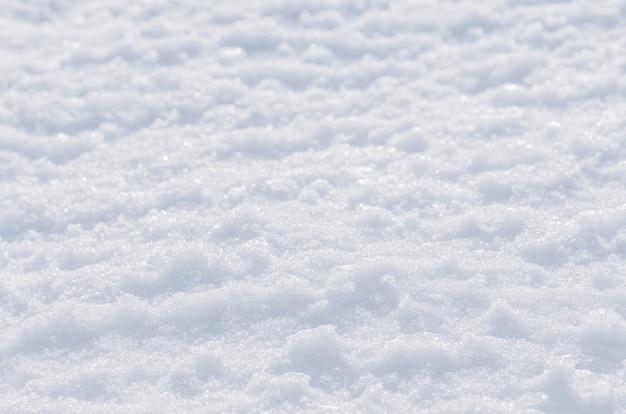 Fond d'hiver de neige