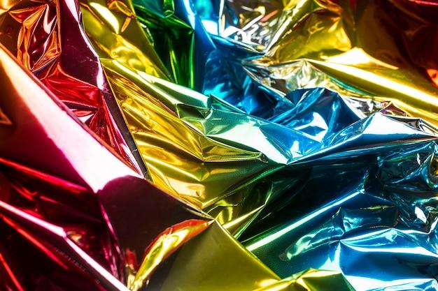 Fond Holographique Métallique Photo gratuit