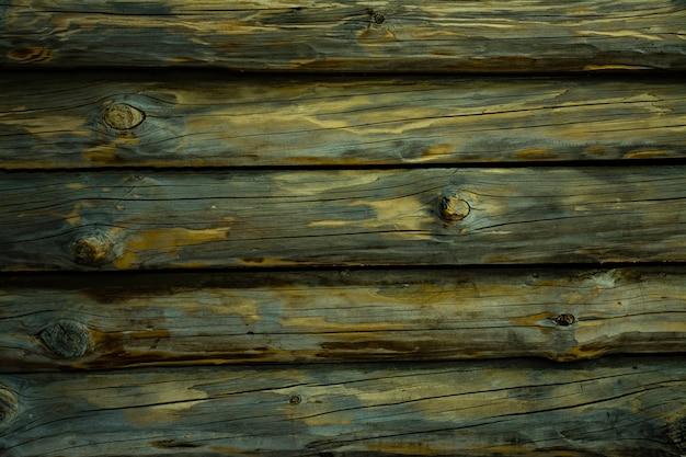 Fond horizontal en bois texturé avec espace de copie.