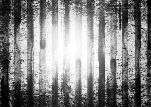 Fond horizontal vintage de rayures noires et blanches grunge. toile de fond rayée dessinée à la main à l'aquarelle. texture abstraite aquarelle. art rugueux urbain éclaboussé de style sale.