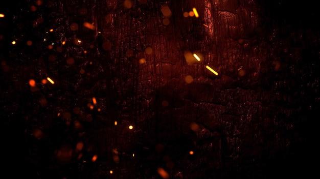 Fond d'horreur mystique avec du sang noir. toile de fond abstrait de vacances halloween. illustration 3d luxueuse et élégante du thème d'halloween
