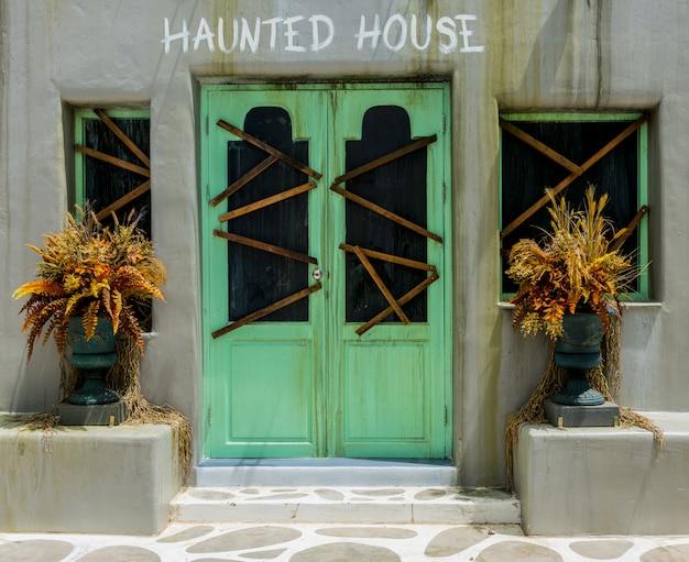 Fond d'horreur pour halloween concept