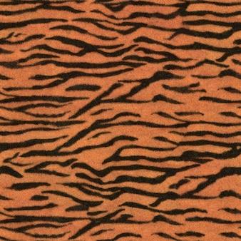 Fond d'illustration de peau de tigre motif de safari sauvage sans couture