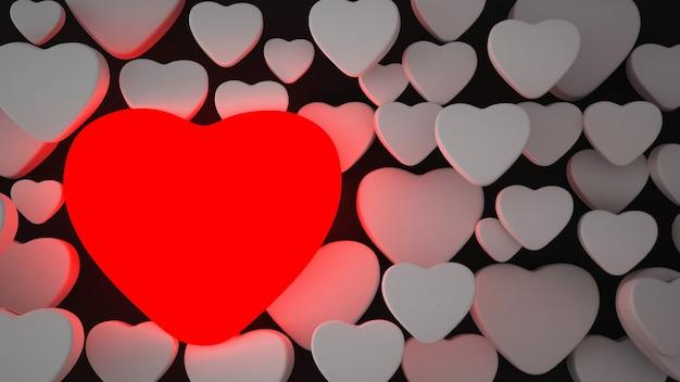 Fond illustration saint valentin