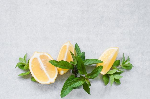 Fond avec des ingrédients pour boisson vitaminée