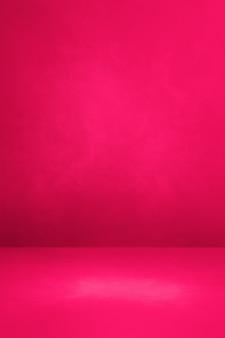 Fond intérieur en béton rose. scène de modèle vide