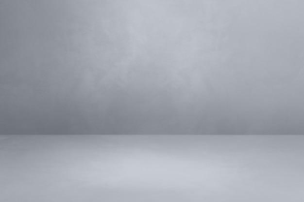Fond intérieur en béton. scène de modèle vide