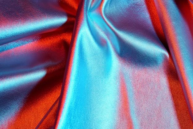 Fond irisé. feuille holographique abstraite holographique