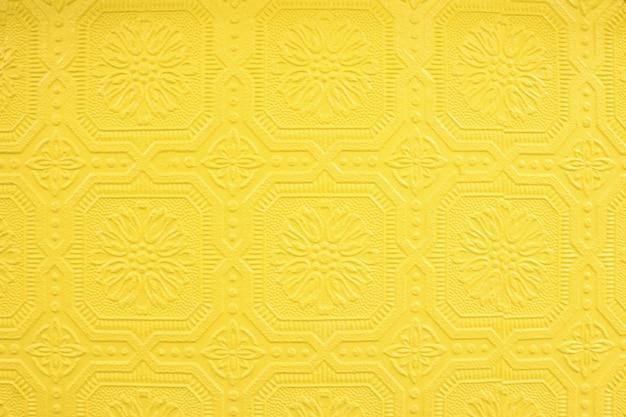 Fond jaune artistique