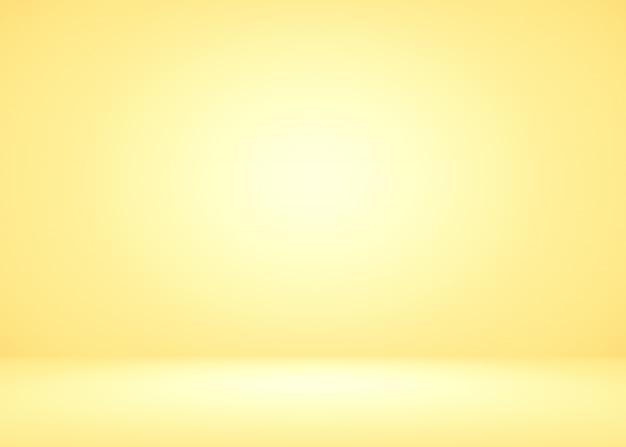 Fond jaune de luxe lumineux bien utiliser comme toile de fond de produit.