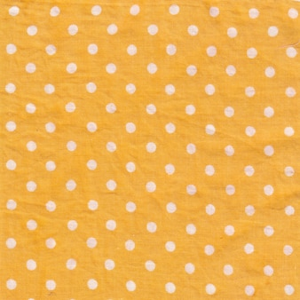 Fond jaune à pois