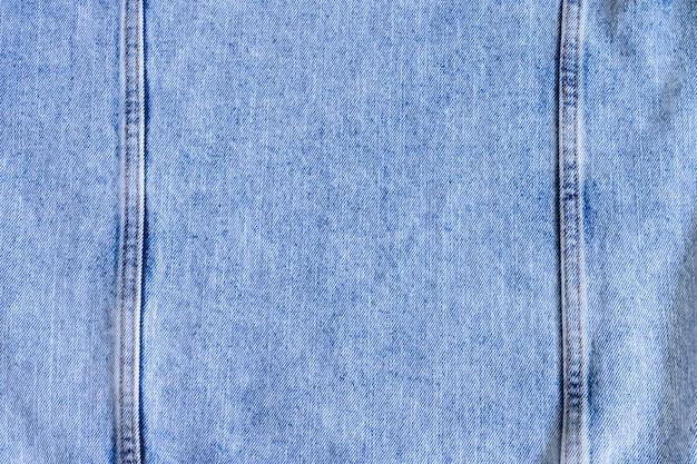 Fond de jeans en denim bleu