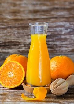 Fond de jus d'orange