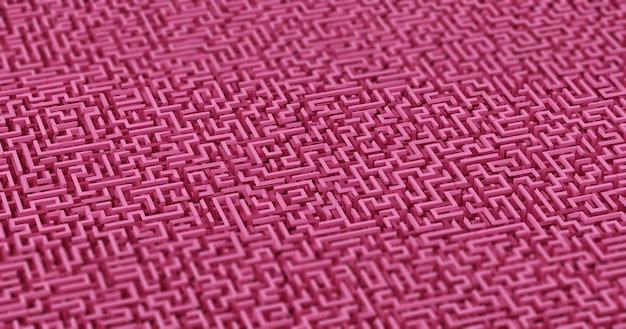 Fond de labyrinthe. illustration 3d