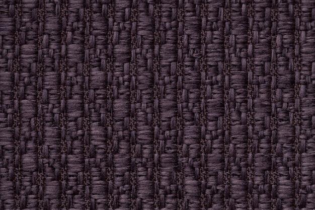 Fond en laine tricoté violet foncé