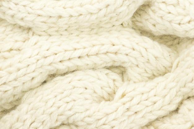 Fond de laine tricoté.