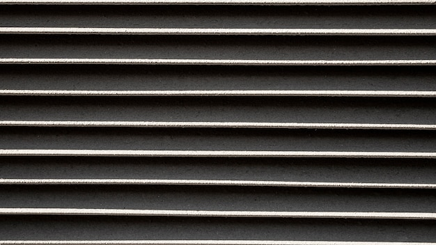 Fond de lignes horizontales en métal inoxydable