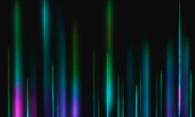 Fond de lignes lumineuses de vitesse