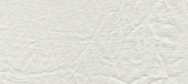 Fond de lin blanc naturel