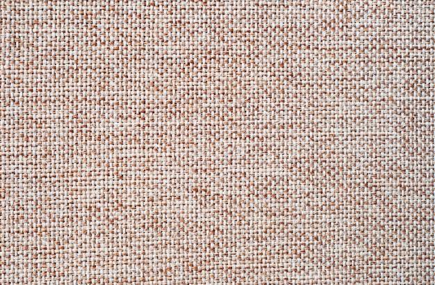 Fond de lin naturel. texture de toile de jute ou de toile avec structure détaillée