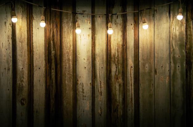 Fond avec lumière tamisée de lumière décorée