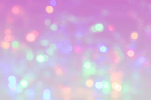 Fond de lumières bokeh abstraites colorées