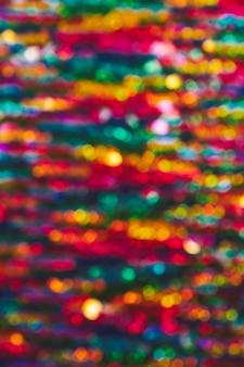 Fond de lumières colorées de bokeh