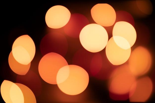 Fond de lumières décoratives lumineuses colorées