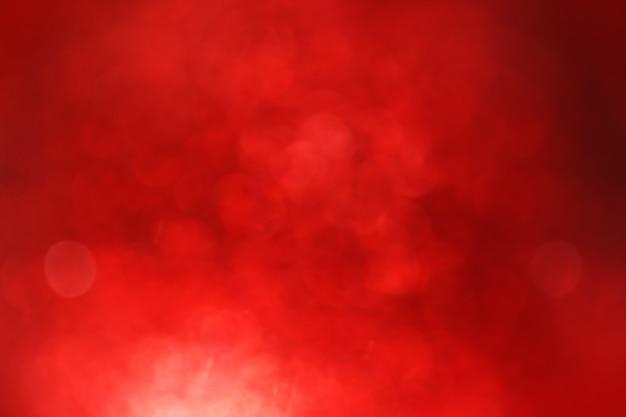 Fond de lumières défocalisé rouge