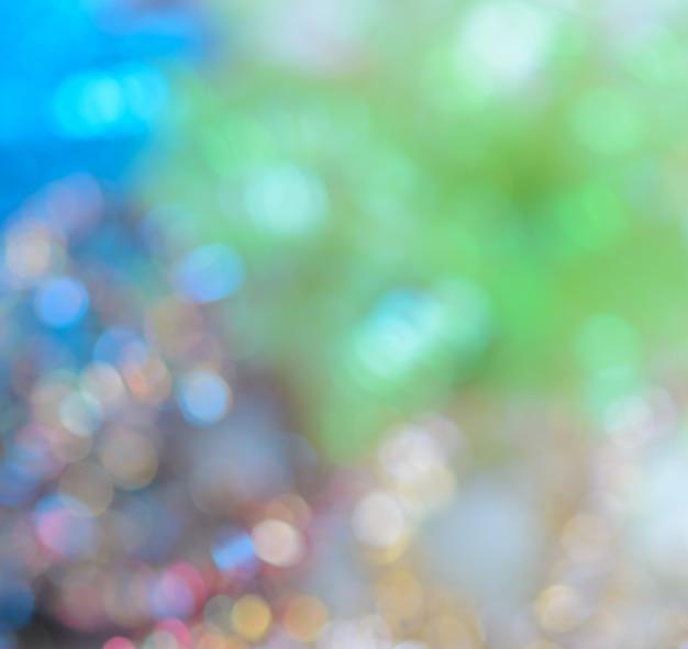Fond de lumières scintillantes bokeh coloré